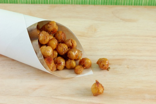 "photo of Honey Roasted ""Nuts"" (Chickpeas)"