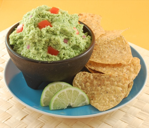 Picture of Low Fat Guacamole (Edamole)