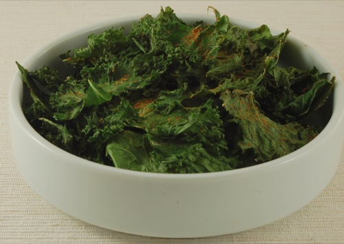 Oil-Free Kale Chips (Fat-Free Gluten-Free) | Happy Herbivore