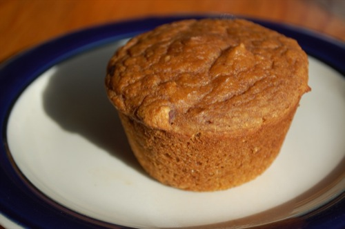 Picture of Maple Kissed Sweet Potato (or Pumpkin) Muffins