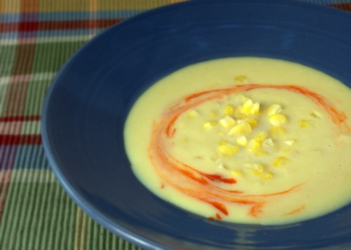 photo of Chipotle Roasted Corn Soup