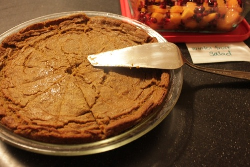 Picture of Pumpkin Pie (Crustless)