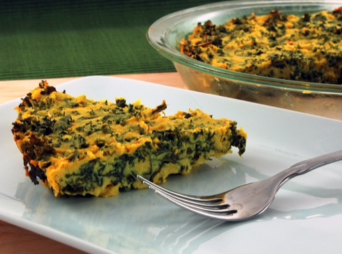 Picture of Quiche with Greens