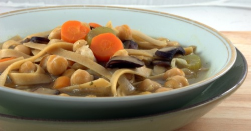 photo of Chickpea Noodle Soup