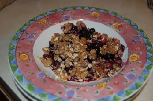 photo of Blueberry Crisp