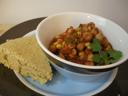 photo of Chickpea and Corn Chili