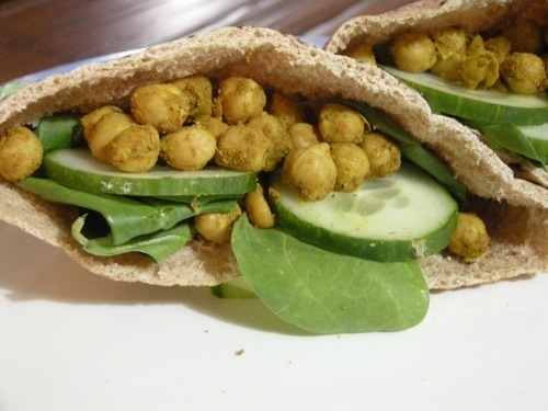 Picture of Curried Chickpea Sandwich