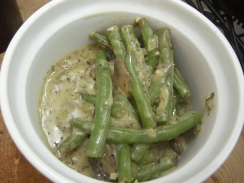 photo of Skillet Green Bean Casserole