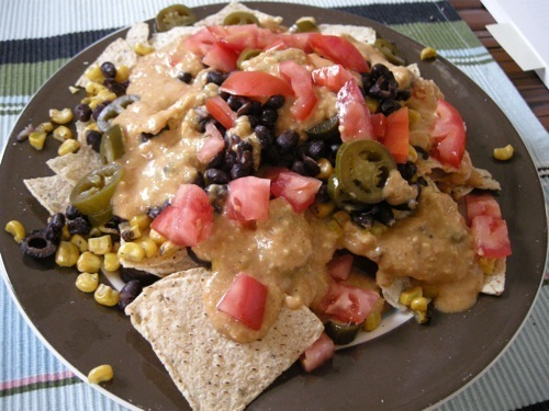 photo of Low Fat Vegan Nacho Cheese