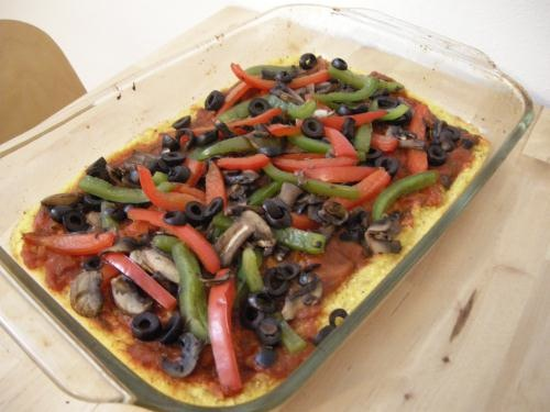 photo of Polenta Pizza