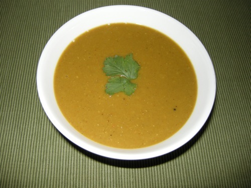 photo of Red Lentil Curry Soup