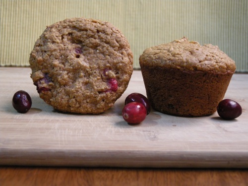 photo of Sweet Potato &amp; Cranberry Muffins