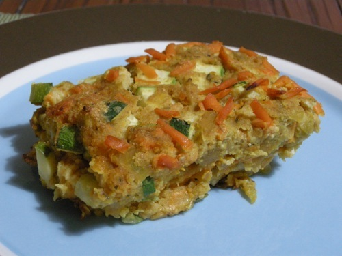 photo of Southwest Zucchini Pie
