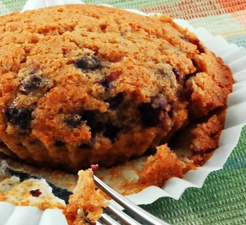 photo of Single-Serving Blueberry Muffin