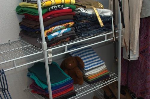 Minimalist Monday Closet Organization Rainbows Happy