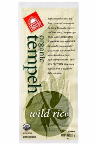 Lightlife Tempeh Organic Wild Rice Tempeh