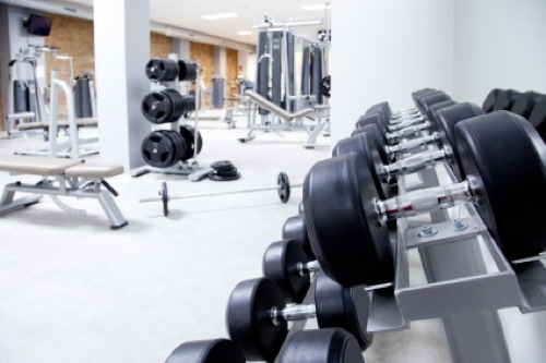 gym weights and equipment