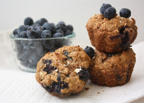 photo of Blueberry Oatmeal Muffins