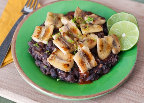 Picture of Black Beans &amp; Plantains
