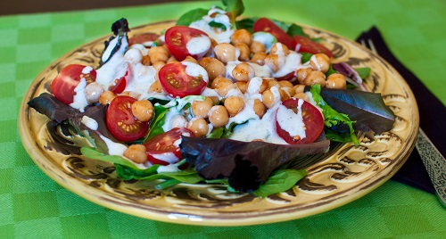 Buffalo Chickpea Salad with Low-Fat Vegan Ranch + 3 Other Awesome ...