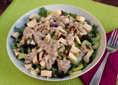 Curried Red Lentil Soup, Kale Waldorf Salad, Farro Apple & Pecan Salad ...