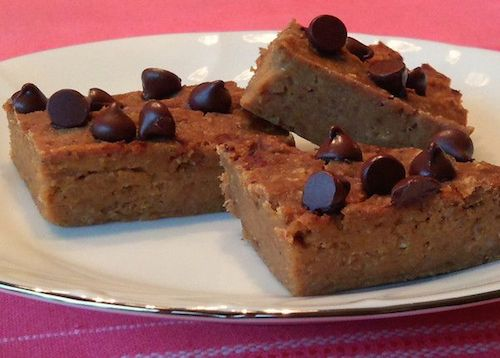 Picture of Low Fat Pumpkin Bean Bars