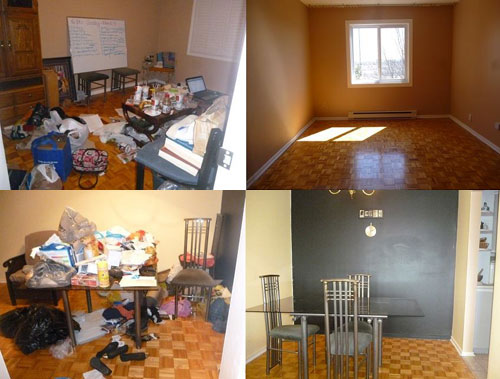 Minimalist monday downsizing decluttering 28 day live for Minimalism before and after