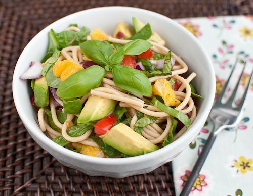 Summer Pasta Salad, Creamy Thai Quinoa Salad, Mediterranean Wraps ...
