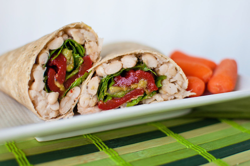 that's a wrap! vegetable spring rolls, cauliflower lettuce wraps, breakfast burritos & more of our best wraps!