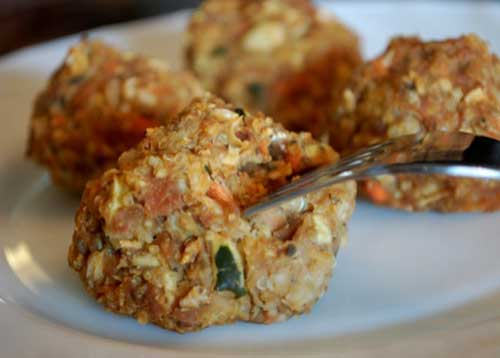 photo of Veggie, Bean, & Quinoa Croquettes