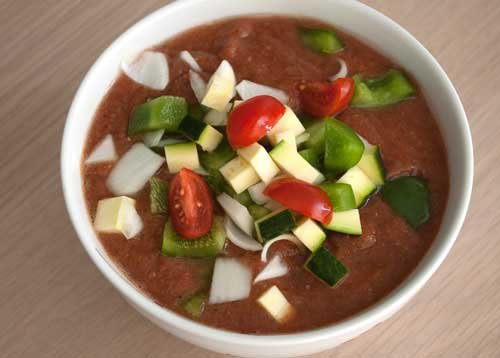 photo of Gazpacho