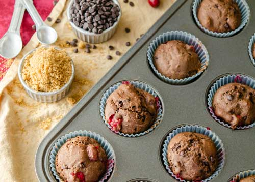photo of Ruby Chocolate Muffins