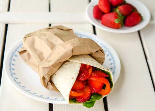 photo of Spinach Love Wrap